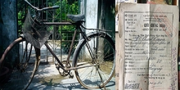 Cư dân mạng xôn xao với chiếc xe đạp cổ 'độc nhất vô nhị' còn giấy chính chủ