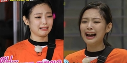 Clip hài: Jennie (BlackPink) khóc một dòng sông khi đi thám hiểm nhà ma cùng Kwang Soo ở Running Man