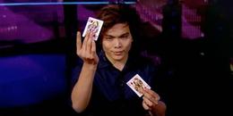 Tiết mục hot nhất Got Talent với 3 triệu view: Ảo thuật làm lá bài biến mất trước mắt nữ giám khảo