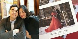yan.vn - tin sao, ngôi sao - Lộ diện thiệp cưới của Á quân Next Top Tuyết Lan và chồng đại gia