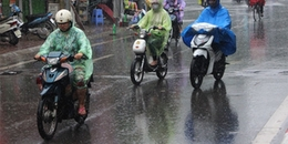 Bão số 3 đổ bộ vào đất liền và suy yếu thành áp thấp nhiệt đới gây mưa lớn nhiều nơi
