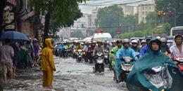 Tiếp tục xuất hiện áp thấp nhiệt đới trên biển Đông, nhiều nơi ở Bắc Bộ, Trung Bộ mưa lớn