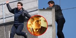 Gặp tai nạn nghiêm trọng trên phim trường, Tom Cruise vẫn tiếp tục đóng cảnh mạo hiểm