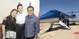 yan.vn - tin sao, ngôi sao - Anh trai nuôi tỷ phú đi máy bay riêng sang Việt Nam để thăm Lý Nhã Kỳ