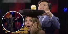 Màn ảo thuật bắn cung thiện xạ hệt như Robin Hood khiến nữ giám khảo Got Talent thót tim hốt hoảng