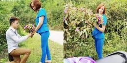 Câu chuyện tình chân thành, giản dị của chàng 9x lấy vợ U60 và lời cầu hôn từ bó hoa mua rừng