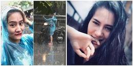 """Cô gái tranh thủ """"tự sướng"""" trước cơn mưa rào Hà Nội được dân tình truy lùng ráo riết trên MXH"""