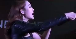 Minh Hằng 5 lần 7 lượt đưa mic mời khán giả nhưng chẳng ai buồn hát theo