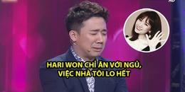 Trấn Thành tiết lộ: 'Hari Won chỉ ăn với ngủ, việc nhà một mình tôi lo hết'