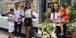 yan.vn - tin sao, ngôi sao - Phản ứng của con trai Ưng Hoàng Phúc và vợ siêu mẫu ngày đầu tiên được đi học?