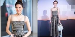 Diện lại váy cũ của Angela Baby, Phạm Hương vẫn làm lu mờ đàn chị