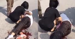 Bị đập mũ bảo hiểm vào đầu, nữ sinh Bắc Giang tức mình rút dao đâm bạn dã man