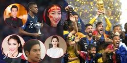 yan.vn - tin sao, ngôi sao - Sao Việt vỡ òa hòa cùng niềm vui chiến thắng của đội tuyển Pháp