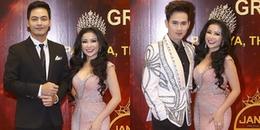 yan.vn - tin sao, ngôi sao - Hoa hậu Janny Thủy Trần chấm thi nhan sắc cùng Phan Anh, Nguyên Vũ ở Thái