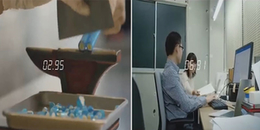 Há hốc mồm xem người Nhật làm việc nhanh và đều không thua gì máy móc
