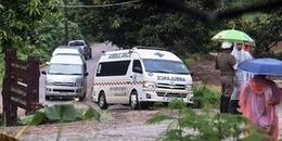 Giải cứu đội bóng Thái: Người thứ 10 được đưa ra khỏi hang