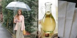 Muôn kiểu bảo vệ quần áo thơm ngất ngây trong những ngày mưa dầm, hiếm nắng