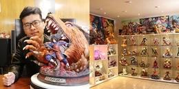 Bộ sưu tập tượng Anime khủng trị giá hơn 1 tỷ đồng của chàng trai người Việt ở Mỹ
