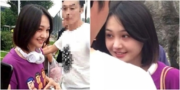 Tình cờ gặp được fan hâm mộ, Trịnh Sảng 'gây bão' với mặt mộc quá xinh đẹp