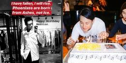 Rocker Nguyễn cô đơn đón sinh nhật tuổi 25, nghe lời động viên bản thân mà xót