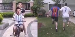 Video chế hài hước Messi và Ronaldo 'đi thật xa để trở về' được cộng đồng mạng chia sẻ tấp nập
