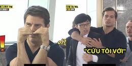 Running Man: Tom Cruise thả tim điêu nghệ, Yoo Jae Suk cầu cứu mọi người vì bị Henry Cavill bắt nạt