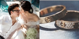 yan.vn - tin sao, ngôi sao - Trước giờ diễn ra hôn lễ, Á hậu Tú Anh khoe nhẫn cưới cùng ông xã đại gia
