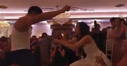 Đám cưới đúng chất Rich Kids: Chú rể nhảy sexy, cô dâu rải tiền boa ủng hộ