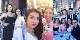 yan.vn - tin sao, ngôi sao - Dàn Hoa hậu, Á hậu nô nức dự tiệc cưới của Tú Anh và ông xã đại gia