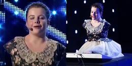 Màn biểu diễn đạt nút vàng của cô gái mất cả hai tay được triệu người khâm phục