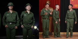 Báo động quân ngũ lúc nửa đêm, Hoàng Tôn - Tuấn Kiệt luống cuống 'đi giày không tất' như phim hài