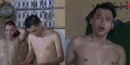 yan.vn - tin sao, ngôi sao - Lộ clip Mr Cần Trô - Xuân Nghị tắm tập thể cùng đồng đội trong quân ngũ