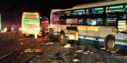 Khánh Hoà: 2 người chết, nhiều người bị thương trong vụ tai nạn liên hoàn giữa 3 xe khách