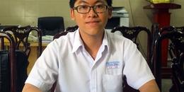 Nam sinh duy nhất điểm 10 Toán ở Sài Gòn muốn làm thầy giáo