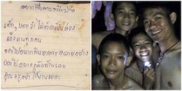 Những bức thư tay đầu tiên được đưa ra ngoài từ hang Tham Luang: Trong này con vẫn ổn, bố mẹ đừng lo