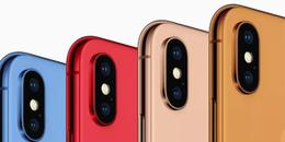 Apple dự kiến ra thêm 5 màu mới cho dòng điện thoại iPhone