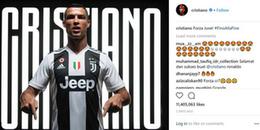 Ronaldo và những lần 'oanh tạc' MXH Instagram: Những bức ảnh liên quan đến Juventus đều lọt top!