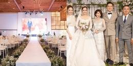 yan.vn - tin sao, ngôi sao - ĐỘC QUYỀN: Không gian đám cưới cực hoành tráng của em trai Minh Hằng và bạn gái hot girl