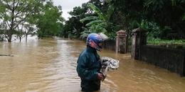 Thống kê sơ bộ thiệt hại ban đầu do bão số 3 gây ra: Nhiều nơi mưa lớn, gây ngập lụt sâu