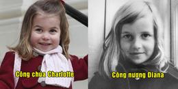 Cả thế giới sửng sốt khi phát hiện Công chúa Charlotte giống Công nương Diana quá cố như 2 giọt nước