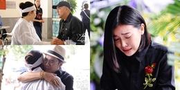 Cao Thái Hà 'chết lặng' trước linh cữu chia sẻ chuyện xúc động về cố NSƯT Thanh Hoàng