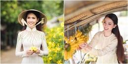 Phan Thị Mơ tự tin giới thiệu bản thân trước ngày dự thi Hoa hậu đại sứ du lịch thế giới 2018