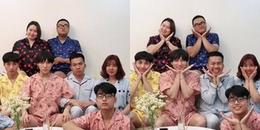 yan.vn - tin sao, ngôi sao - Sơn Tùng M-TP và em trai hot boy mặc piyama đôi đáng yêu đón