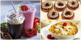 Muốn có một ngày khỏe mạnh thì nhất định bữa sáng đừng ăn những món này!