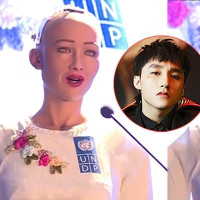 Robot Sophia đến thăm Việt Nam: Mặc áo dài và nhắc đến Sơn Tùng M-TP trong bài phát biểu