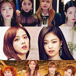 Black Pink - nhóm nhạc nữ đứng đầu bảng xếp hạng giá trị thương hiệu vào tháng 7