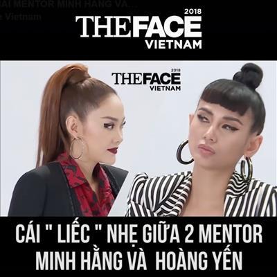 Lộ clip Minh Hằng đá đểu Võ Hoàng Yến khiến đàn em nóng mặt, The Face chính thức có drama rồi