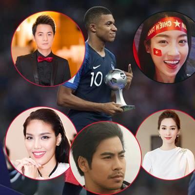 Sao Việt vỡ òa hòa cùng niềm vui chiến thắng của đội tuyển Pháp