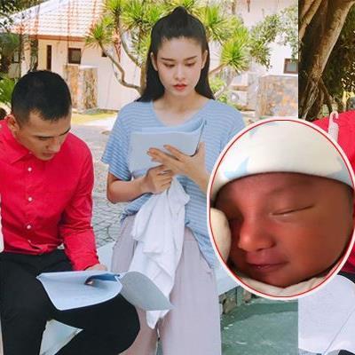 Thúy Diễm vừa sinh con, Lương Thế Thành đã đi đóng phim để kiếm tiền lo cho gia đình