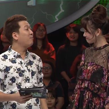 Diện đầm ông xã Trấn Thành tặng, Hari Won bị Trường Giang chê mặc đồ giống bà thím